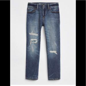 Gap kids boys 12 husky original jeans destruction